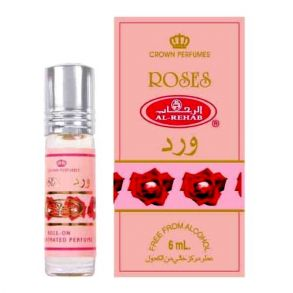 ROSES (Аль Рехаб Роузез) - арабские масляные духи 6 мл