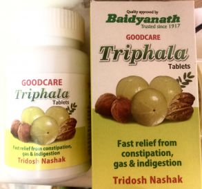 Трифала (100 таб), Goodcare Pharma с Baidyanath
