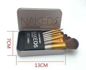 Набор кистей для макияжа Naked5 из 7 кистей